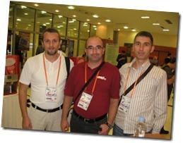 S desna na lijevo Spaso Lazarević (Bjeljina UG), Damir Dizdarevic (MSCommunityBiH), Bahrudin Hrnjica (Bihac UG)
