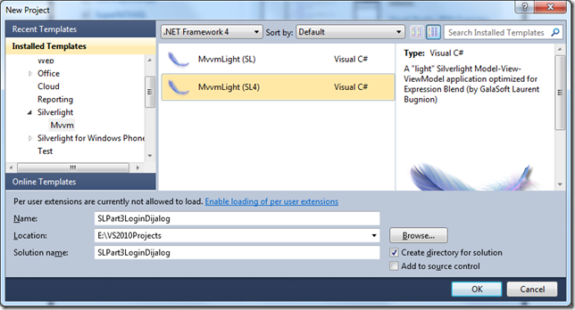 Silverlight 4 Business Application Part 3 of n (2/4)
