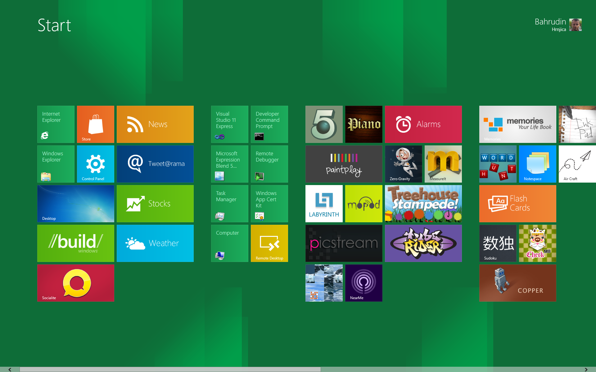 Windows 8 metro tips and tricks bahrudin hrnjica blog for Window design app