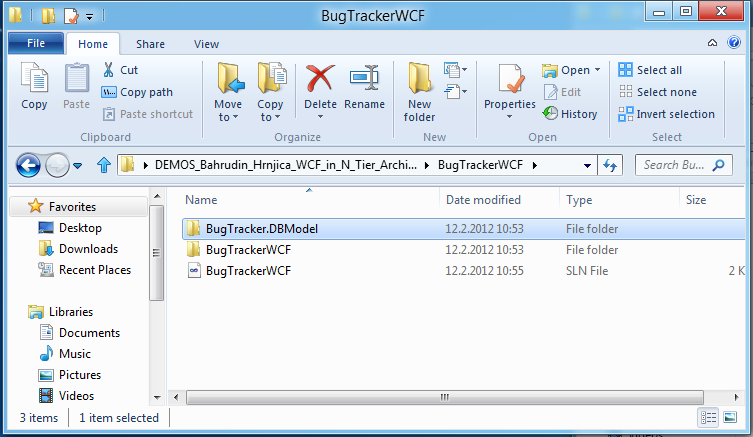 Using WCF Web API in .NET 4.5 and WCF 4.5 (2/6)