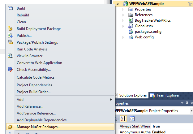Using WCF Web API in .NET 4.5 and WCF 4.5 (4/6)