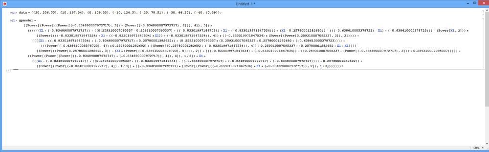 Export GPdotNET Model in to Mathematica (4/6)
