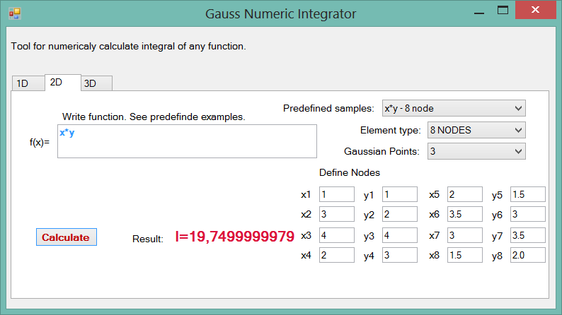 Gauss Numeric Integrator - my new open source project for numerical integration (1/2)