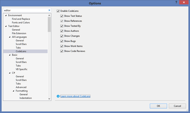 CodeLens amazing feature in VS 2013 (1/6)