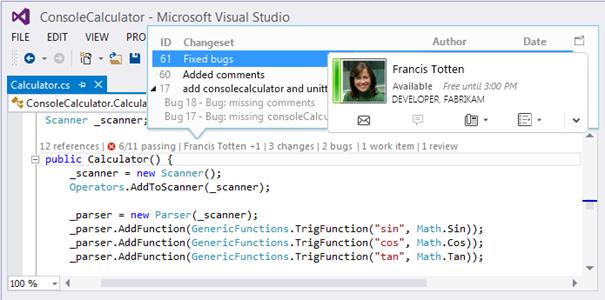 CodeLens amazing feature in VS 2013 (3/6)