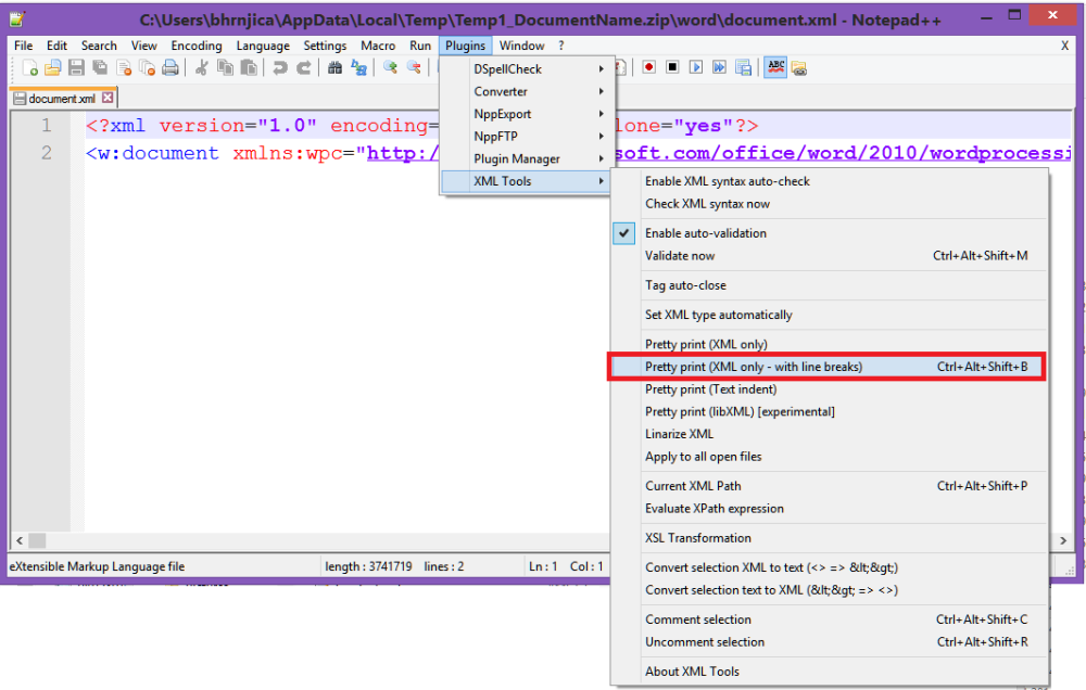 How to manually fix content error in Microsoft Word (4/6)