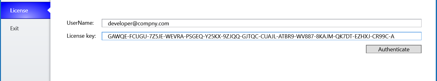 licence key generator c#