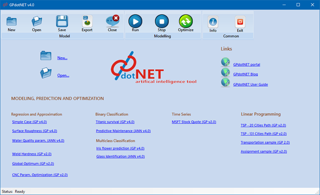 GPdotNET v4 0 has been released - C# &  NET technologies - developers de